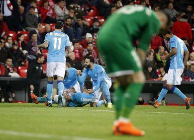 1-2. El Marsella elimina al Athletic en una de sus noche más negras