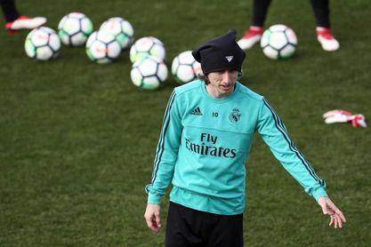 Bale y Modric regresan al grupo y podrán jugar ante el Girona