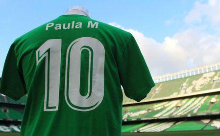 El Betis llevará los nombres de las jugadoras del Féminas ante el Espanyol