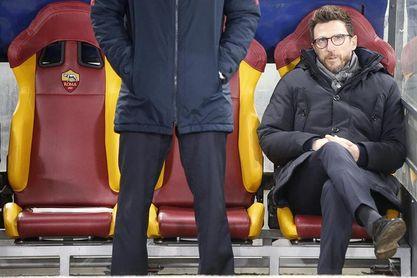 """Di Francesco dice que el Roma """"está feliz por enfrentarse al Barcelona"""""""
