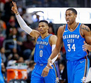 Los Raptors continúan su racha victoriosa; Westbrook repite el triple-doble