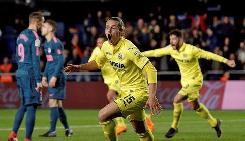 2-1. Ünal remonta al Atlético en los últimos diez minutos