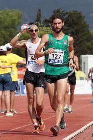 Álvaro Martín y María Pérez campeones de España de 20 km marcha