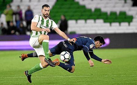La amplia derrota en el Villamarín ha dejado al Espanyol muy tocado.
