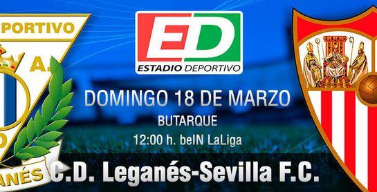 Leganés-Sevilla F.C.: Esto sí que importa un pepino