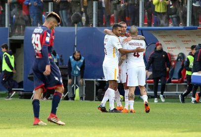 El Roma gana en Crotone y Silva salva al Milan en el día del póquer de Icardi