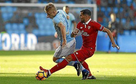 Imagen del Celta-Sevilla de la pasada temporada.