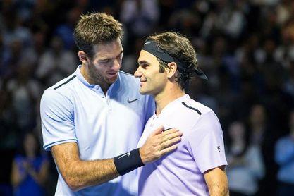 Del Potro y Federer solo se verían las caras de nuevo en la final de Miami