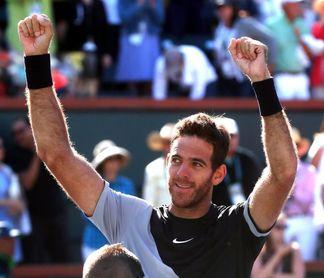 Del Potro se proclama campeón de Indian Wells y asciende en el ránking