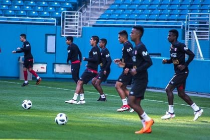 Perú y Croacia juegan un partido inédito, en su primer ensayo para el Mundial