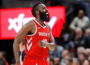100-96. Harden decide en la prórroga y los Rockets se mantienen ganadores