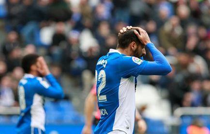 El Deportivo, con problemas para marcar, incide en los remates