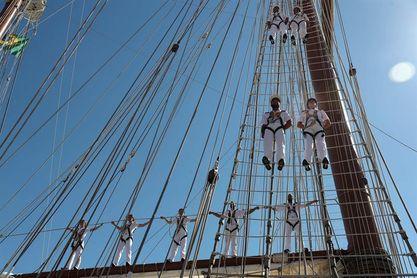 Buques escuela de siete países tendrán intercambio durante una regata de 157 días