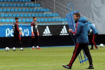 La selección española sub-21 levanta pasiones en la capital del Bierzo