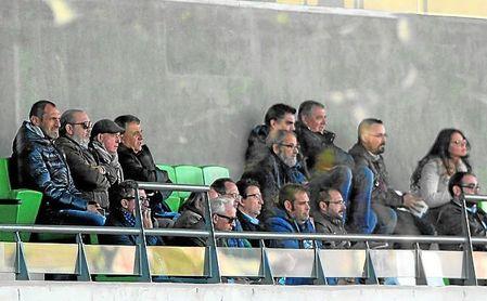 Lorenzo Serra Ferrer presenció este sábado el encuentro del filial ante el San Fernando.