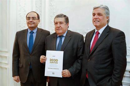 """Uruguay, Argentina y Paraguay transmiten en Madrid el """"sueño"""" del Mundial 2030"""