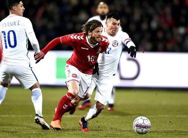 0-0. Chile arranca un empate trabajado contra Dinamarca