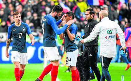 "Giroud: ""Ben Yedder es impresionante"""