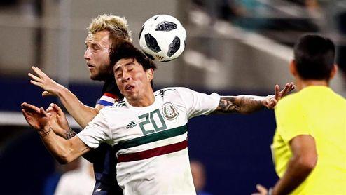 0-1. Croacia, sin varias de sus mejores figuras, vence a México en un amistoso
