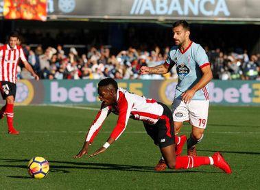 El Athletic quiere tercera victoria consecutiva ante el Celta en San Mamés