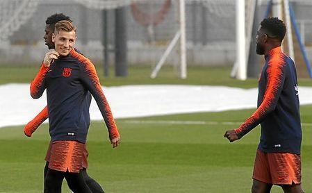 Valverde se queda sólo con Jordi Alba para el lateral izquierdo.