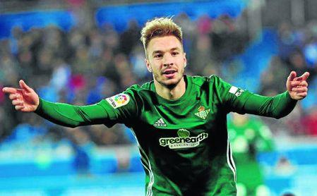 Loren lleva cinco goles en apenas siete partidos con el Betis.