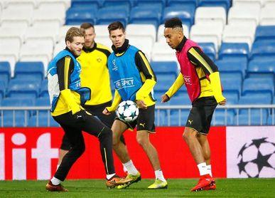 """El Dortmund, """"sparring"""" del Bayern para el primer duelo contra el Sevilla"""