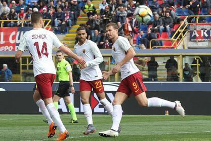 1-1. Dzeko salva un punto para el Roma antes de la visita al Barcelona