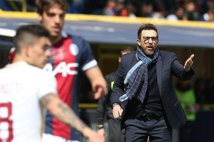 Nainggolan se retira lesionado en el Bolonia-Roma