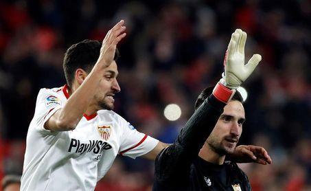 Jesús Navas, principal novedad en el Sevilla para recibir al Barcelona