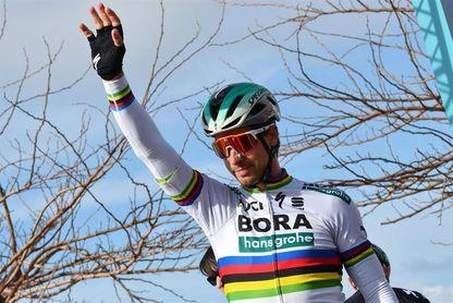 Sagan, Avermaet y Gilbert por el monumento de Flandes, Valverde ausente