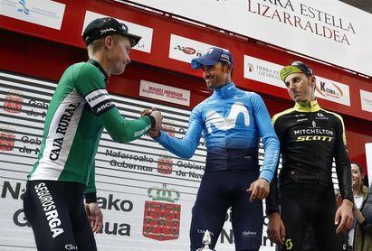 Valverde culmina un gran trabajo de Movistar con un demoledor ataque final