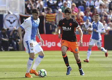 0-1. Un Rodrigo en racha desatasca al Valencia en Butarque