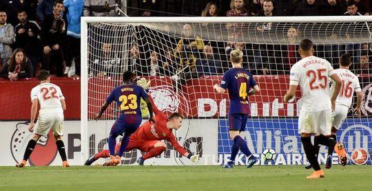 """A Rakitic le """"sabe a victoria"""" el empate logrado en el campo del Sevilla"""