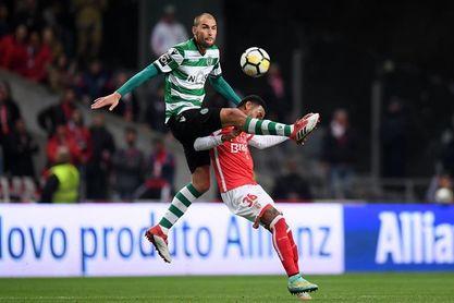 El Sporting pierde en Braga antes de visitar al Atlético