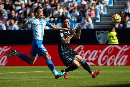 El Deportivo solo ha ganado uno de los diez últimos partidos con el Málaga