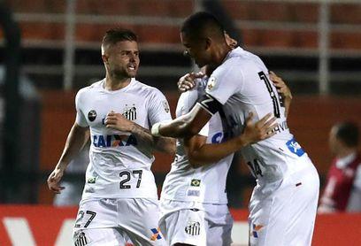 Santos visitará a Estudiantes sin su goleador Gabigol y con Braz en duda