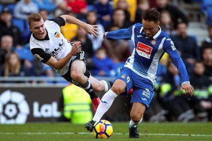 El Valencia ganó en ocho de las últimas nueve visitas del Espanyol