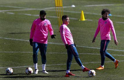 Vrsaljko y Juanfran se reincorporan a los entrenamientos