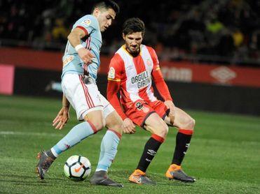 El Girona se entrena sin Douglas Luiz, Michael Olunga y Carles Planas