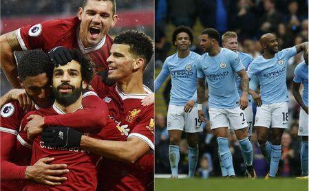 Liverpool y City se disputan la supremacía del fútbol inglés en la Champions