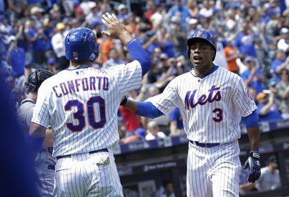 2-8. El bate explosivo de Conforto y Céspedes mantiene ganadores a Mets