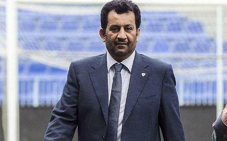 Al-Thani arremete contra Arnau y el alcalde de Málaga por la situación del club