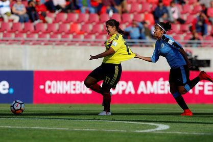 Colombia apabulla a Uruguay por 7-0 con un póker de Catalina Usme