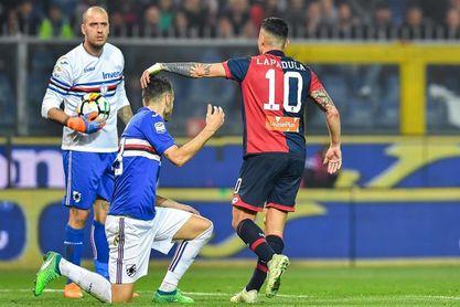 Sampdoria y Génova firman tablas en el Derbi de la Lanterna