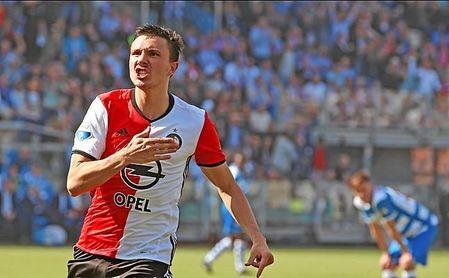 Sólo tres jugadores llevan más goles que Berghuis en la Eredivisie.
