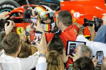 """Vettel: """"A falta de 10 vueltas dije que estaba todo bajo control, pero mentí"""""""