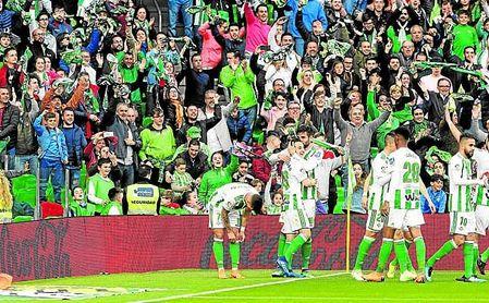 Frente al Eibar volvió a rebasarse el listón de los 50.000 espectadores (50.194 en total).