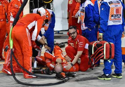 Ferrari informa de que su mecánico herido en Baréin ha sido operado con éxito