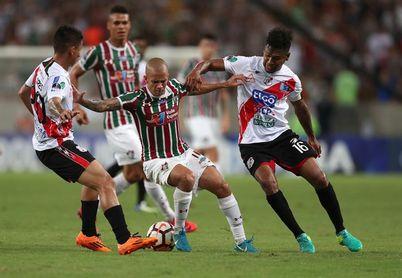 3-0. El Fluminense golea al Nacional Potosí y saca la ventaja que quería